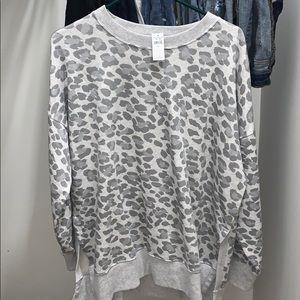 Aerie leopard sweatshirt